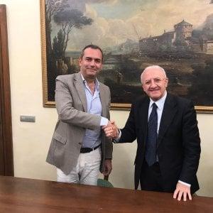 De Luca-de Magistris, accordo su rifiuti e stadio Collana
