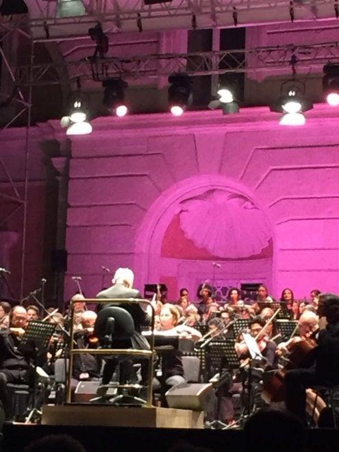 Morricone festeggia 60 anni di musica alla Reggia di Caserta