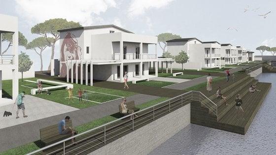 Da ville confiscate a hub di produzione artistica: il progetto di giovani architetti per Castel Volturno