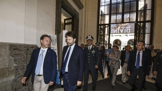 """Franceschini: """"Felice di essere al Mann, Giulierini fa un lavoro straordinario"""""""