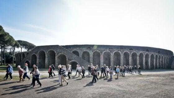Musei italiani, visitatori a +7,3%