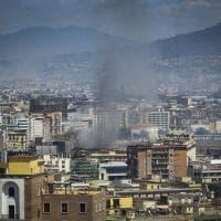 Napoli e la Campania tra le fiamme