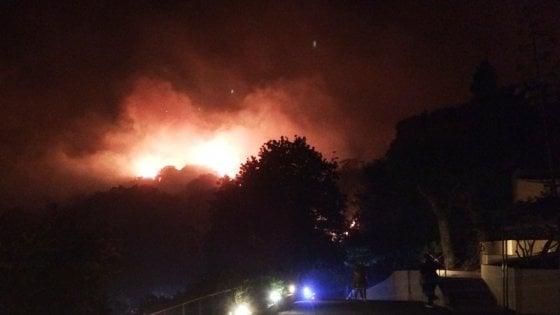Emergenza incendi: il  Cilento è in ginocchio
