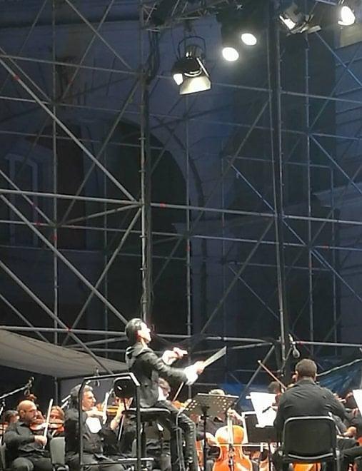 """Ezio Bosso: """"Non condividete questo concerto sui social: portatelo nel cuore"""""""