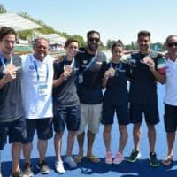 Mondiali di nuoto, Sanzullo ancora protagonista: è bronzo con la staffetta