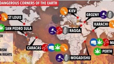 Retromarcia del Sun, Napoli scompare dalla mappa delle città più pericolose del mondo