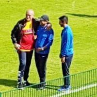 Benevento, 1-1 a Brunico contro la squadra di Ramon Diaz