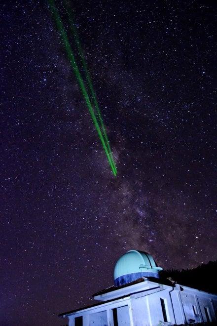 Alburni, lo spettacolo della via Lattea