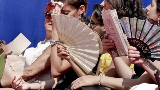 Caldo torrido in tutta Italia, record in Sardegna: 49 gradi percepiti