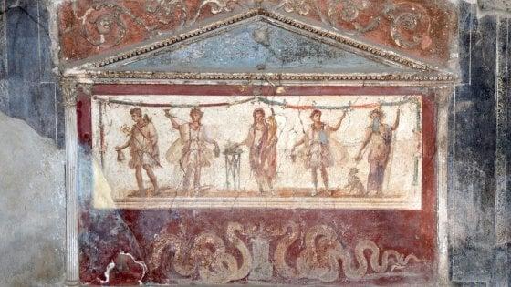 Pompei: così rinasce la bellezza negli scavi