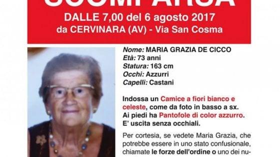 Anziana scomparsa da tre giorni, ore d'angoscia in Valle caudina