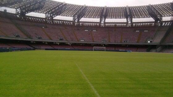 Napoli-Espanyol: debutto al San Paolo per la moviola in campo