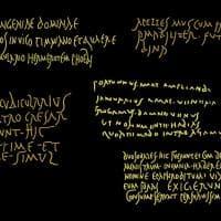Animazioni multimediali e giochi di luce: le iscrizioni di 2000 anni fa diventano dei tweet