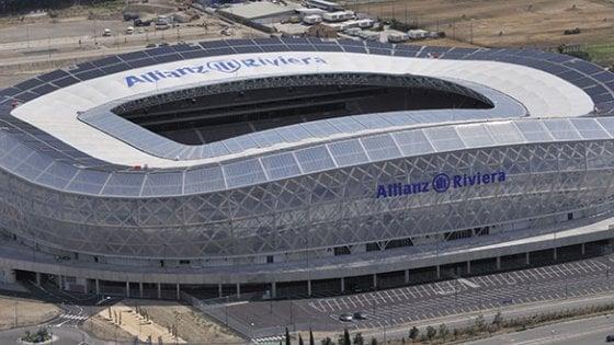 Niente tifosi del Napoli all'Allianz Riviera il 22 agosto: divieto di accedere alla zona dello stadio
