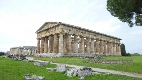 Paestum, così rinasce il Tempio di Nettuno
