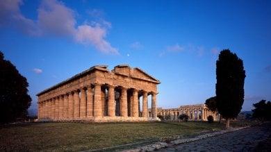 Paestum, così rinasce il Tempio di Nettuno   FOTO