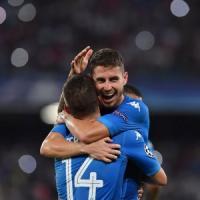 Napoli, la Champions è più vicina: Mertens e Jorginho stendono il Nizza
