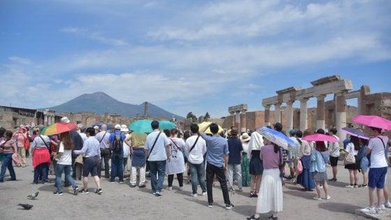 Ponte di Ferragosto, 46 mila visitatori a Pompei