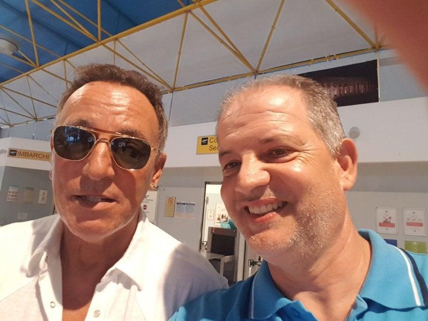 Bruce Springsteen, vacanze in costiera amalfitana