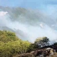 Incendi, ancora fiamme sul Faito