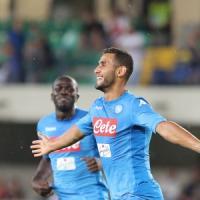 Napoli, obiettivo Champions. E Ghoulam esulta su Twitter