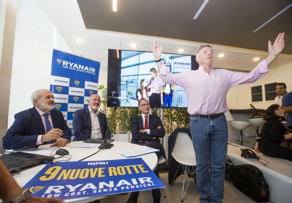 "Michael O'Leary e Armando Brunini: Ryanair ""bacia"" Capodichino"