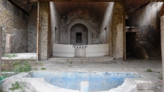 Pompei- All' Antiquarium la Mostra TESORI SOTTO I LAPILLI