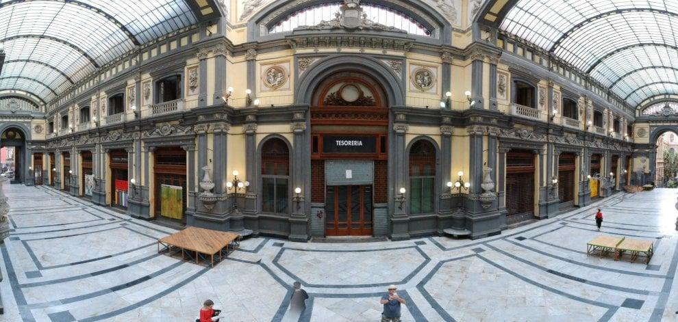 Anpi, la sede nella galleria Principe di Napoli . Firmato protocollo con il Comune