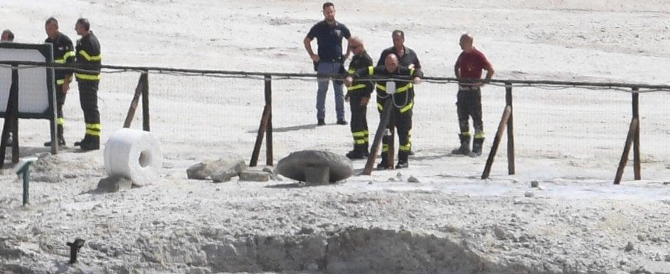 Tragedia alla Solfatara di Pozzuoli:  famiglia muore in un cratere per salvare il figlio