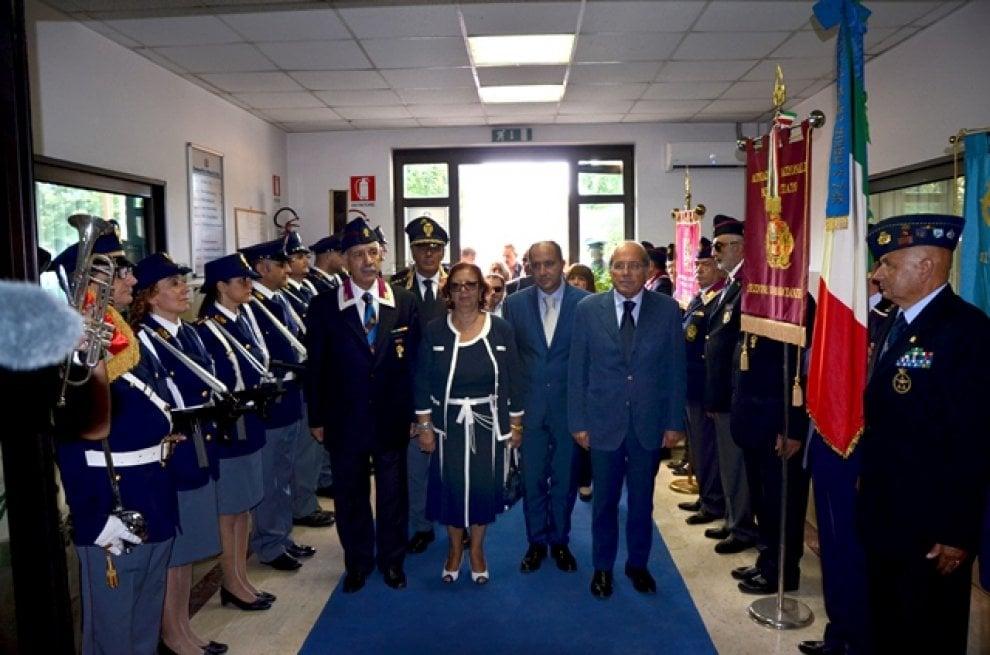 Intitolazione del commissariato di Polizia di Santa Maria Capua Vetere all'agente Domenico Russo