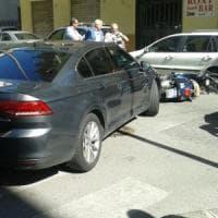 La 22enne investita dall'auto di De Luca: