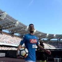 Al San Paoloil Napoli dilaga. Sei gol al Benevento