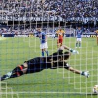 Nessuno segna più del Napoli in Europa: la squadra celebrata dall'Uefa