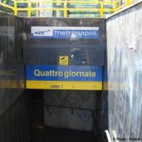Stazione Quattro Giornate- Linea 1 chiusa per 4 ore: in tilt le telecamere di sicurezza