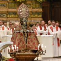 Si è ripetuto a Napoli miracolo del sangue di San Gennaro
