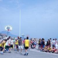 Settimana europea dello sport, Villaggio sul lungomare