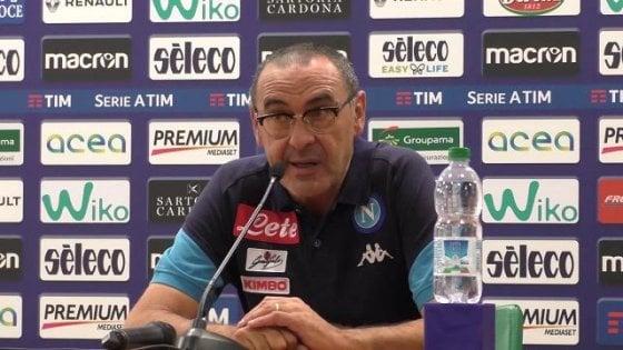 Spal-Napoli, i convocati di Sarri per Ferrara: out Chiriches, c'è Tonelli