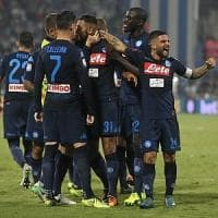 Spal-Napoli, gli azzurri vincono a Ferrara (2-3)