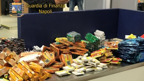 Sequestrati a Capodichino oltre 20 chili di farmaci nocivi