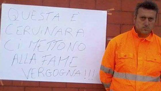 Senza lavoro, invalido attua sciopero della fame da 18 giorni