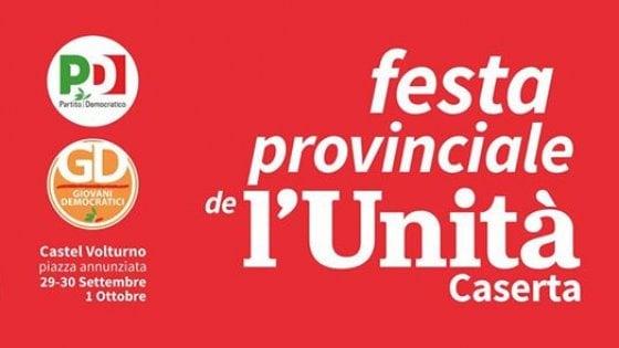 Comincia oggi a Castel Volturno la tre giorni della Festa provinciale dell'Unità