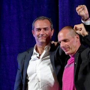 "De Magistris con Varoufakis: ""Da Napoli un movimento popolare europeo"""