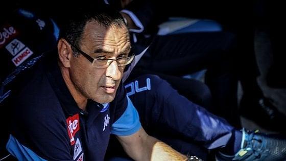 Napoli. Sarri scatenato, l'allenatore accusa lo stadio della Spal