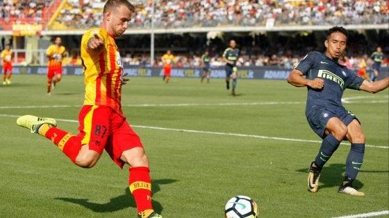 Il Benevento fa soffrire l'Inter ma si arrende alla settima sconfitta (1-2)