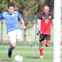 Europei per amputati, vittoria all'esordio per l'Italia con doppietta dell'ischitano Sasso