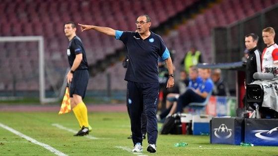 Il Napoli e Sarri, tre mesi per respingere l'attacco delle big