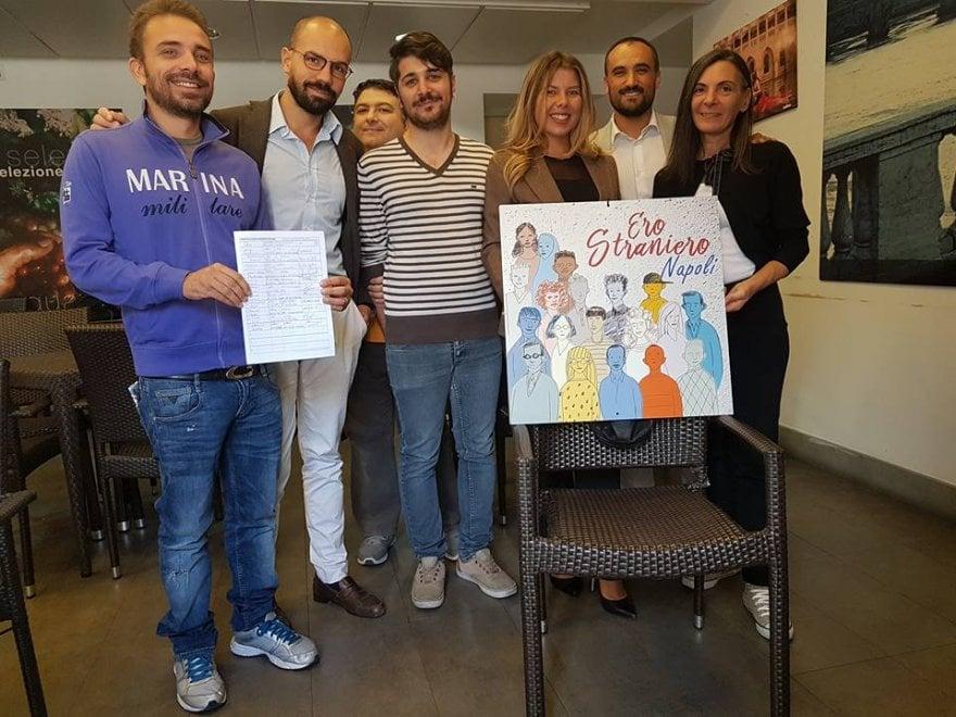 #Erostraniero: il consiglio comunale di Napoli firma l'iniziativa di Radicali italiani, Arci, Acli e Asgi
