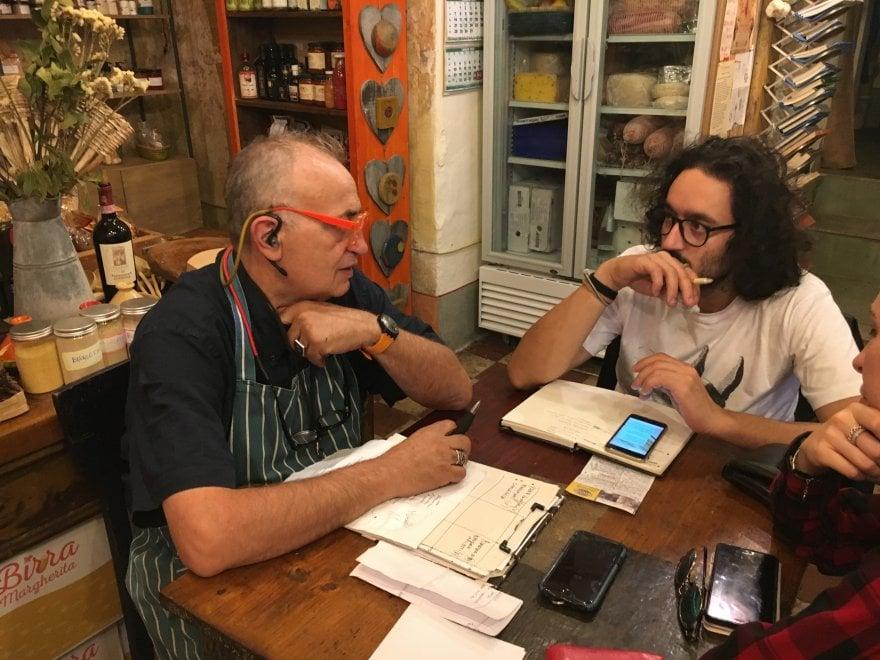 La Campania incontra la Puglia a tavola. Cena a 4 mani, firmata da Gianvito Matarrese e Mario Avallone