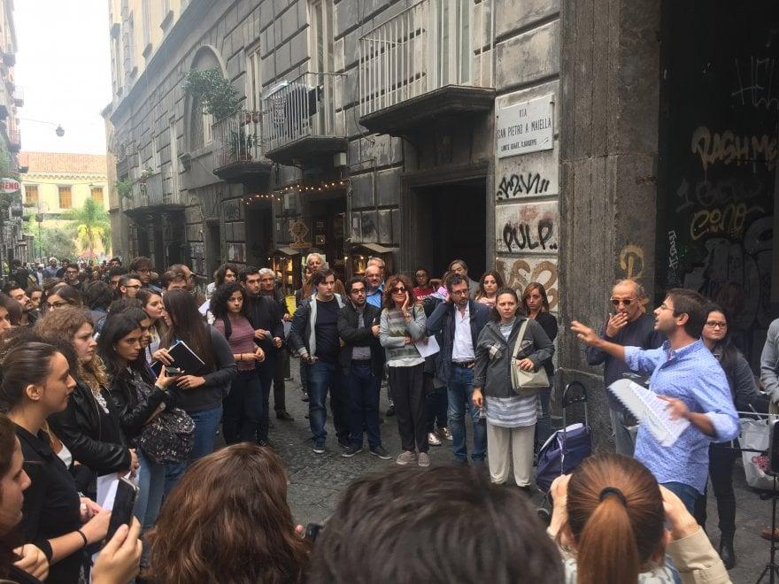 Conservatorio, Requiem in piazza contro l'aumento delle tasse