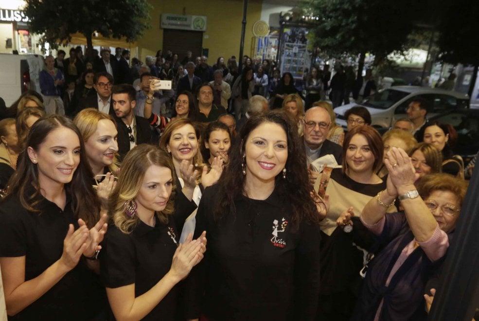 L'inaugurazione di Viva a Poggiomarino